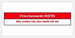 Frischemarkt Roth